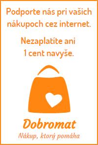 Podporte nás pri vašich nákupoch cez internet. Nezaplatíte ani 1 cent navyše.